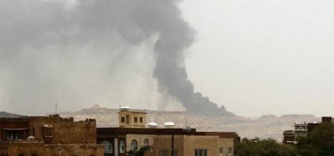 Saudi fighter jets target Yemen, killing at least 10