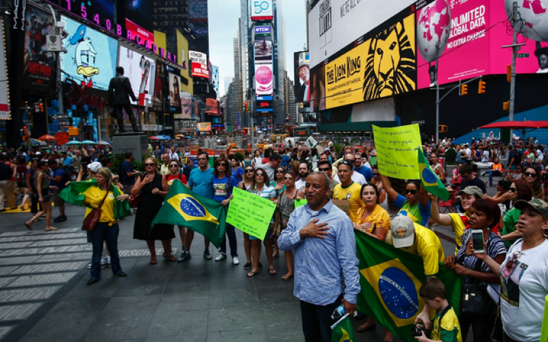 Brazilians stage nation-wide anti-government protests