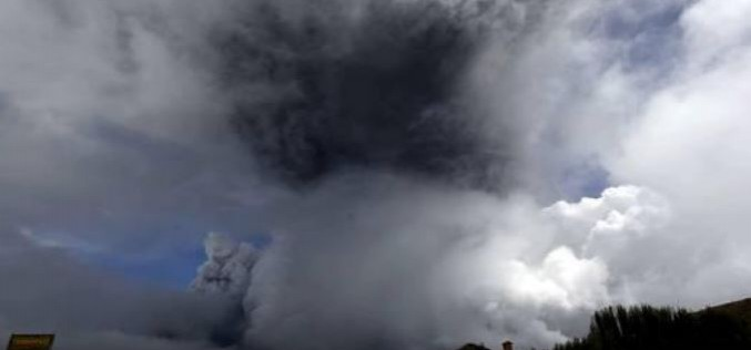Cotopaxi volcano eruption prompts evacuation in Ecuador