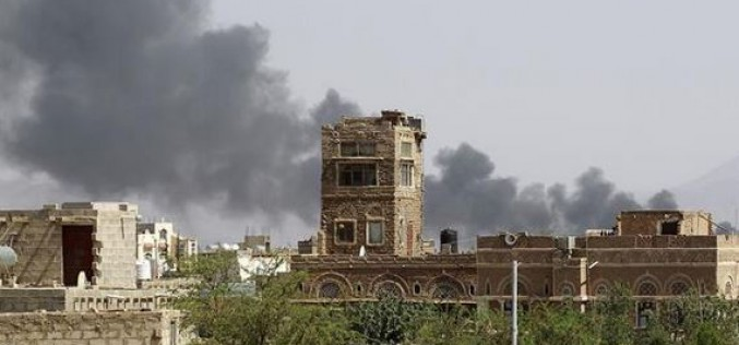 Saudi airstrikes kill five in northwestern Yemen as ground invasion begins