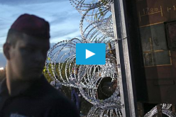 Hungary seals border with razor wire    #video –#Euronews