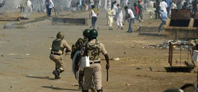 Indian forces clash with protesters in Kashmir on Eid al-Adha