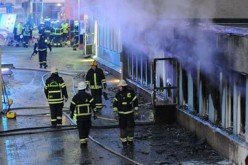 Sweden : 'Arson attack' destroys planned refugee home