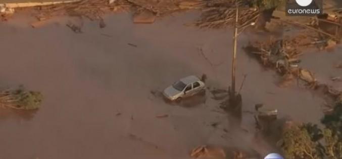 Brazil: dam bursts, killing several people in Mariana