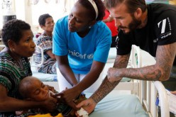 Papua New Guinea : UNICEF Goodwill Ambassador David Beckham's Fund helps children
