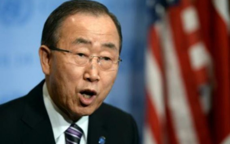 West Bank: Ban Ki-moon condemned the continuation of Israeli settlement