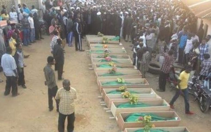 Nigeria: Thousands of protesters demanding the release of Shiite prisoners, including the leader of the IMN, Ibrahim al-Zakzaky