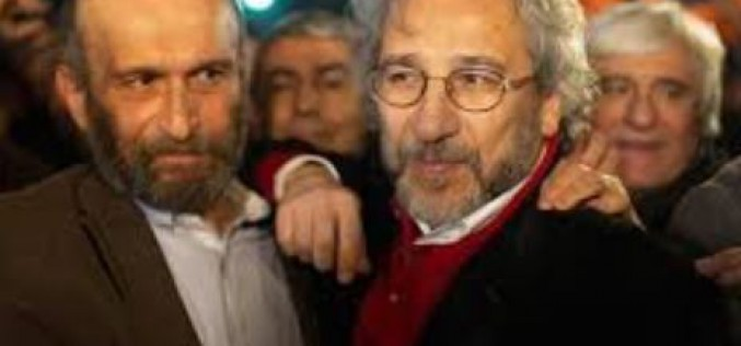 Turkey: release of two opposition journalists who had revealed Ankara's arms supplies to rebels in Syria