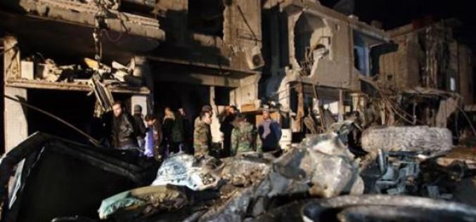 Syria: Car bomb near Damascus kills at least 15