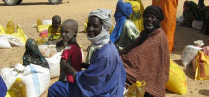 South Sudan: a month of food aid flown in a week