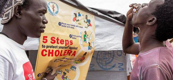 South Sudan: Strong increase of suspected cholera, according to UNICEF