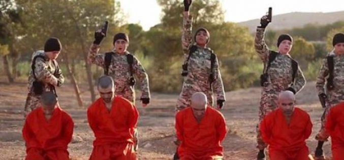 Syria: British boy among five children executing prisoners