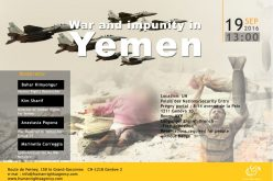 War and impunity in Yemen 19 sebtember 2016