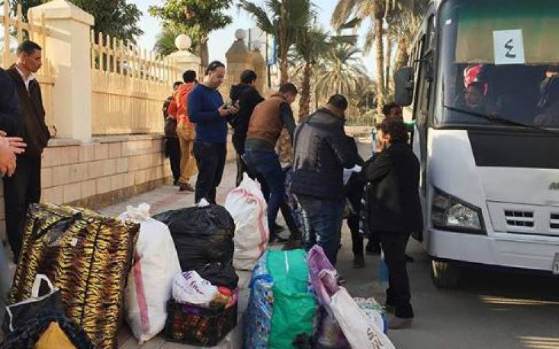 Egypt: Christians in North Sinai flee the violence of the Daesh terrorist group (IS)
